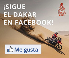Sigue el Dakar en Facebook