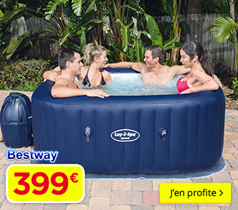 Spa Gonflable BESTWAY Lay-Z-Spa